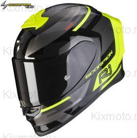 Шлем Scorpion EXO-R1 Air Orbis, Черно-желтый