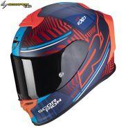 Шлем Scorpion EXO-R1 Air Victory, Синий матовый с красным