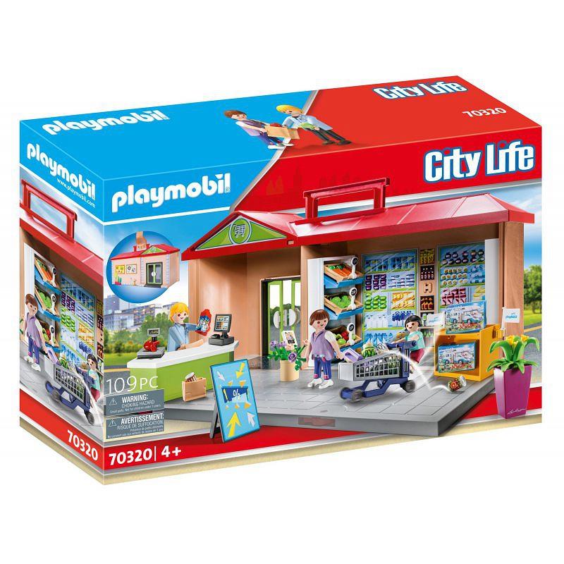 Конструктор продуктовый магазин Playmobil 70320