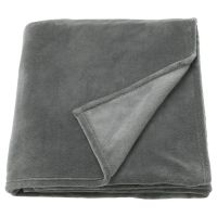 TRATTVIVA ТРАТТВИВА, Покрывало, серый, 150x250 см - 403.840.44