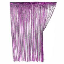 Новогодний дождик Штора, 2 м х 1 м, Фиолетовый