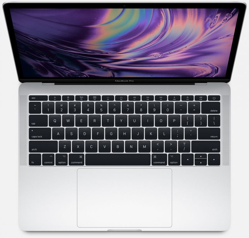 Apple MacBook Pro 13 (2017) 128Gb Silver (MPXR2)