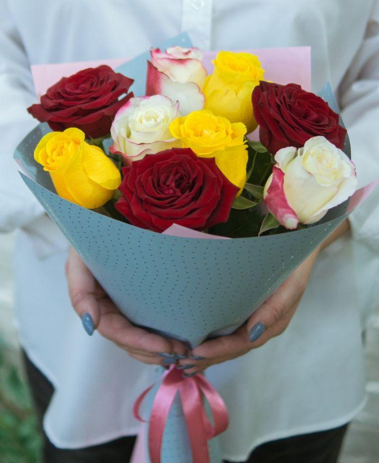 """Букет цветов """"9 роз"""" 5"""