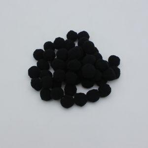 Помпоны, размер 25 мм, цвет 29 черный (1уп = 50шт)
