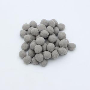 Помпоны, размер 25 мм, цвет 34 серый (1уп = 50шт)