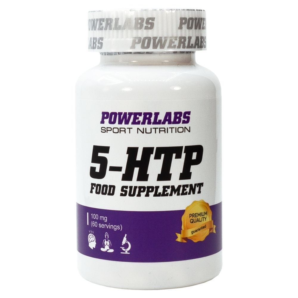 PowerLabs 5-HTP 60 caps