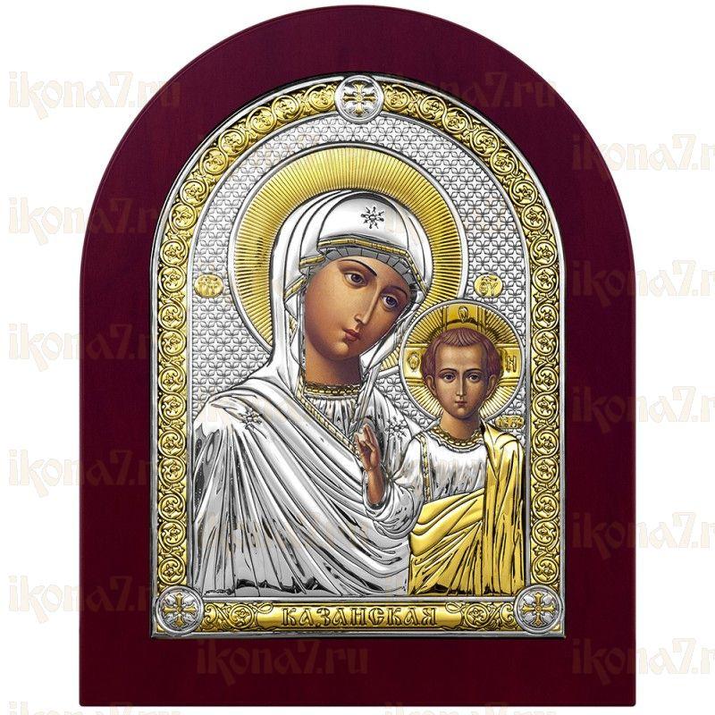 Казанская икона БМ с деревяной рамой