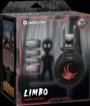 Гарнитура игровая Defender Limbo объемный звук 7.1