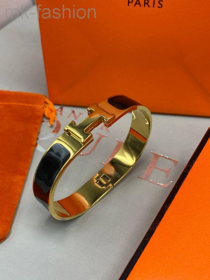 Hermes браслет Black Gold