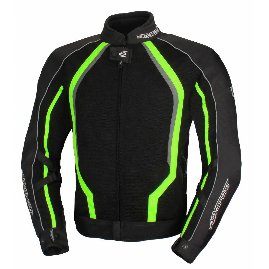 Текстильная куртка Solare II чёрная/флуоресцентно-желтая