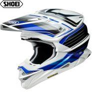 Шлем Shoei VFX-WR Pinnacle, Бело-сине-черный