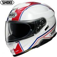 Шлем Shoei GT Air 2 Panorama, Бело-красно-синий