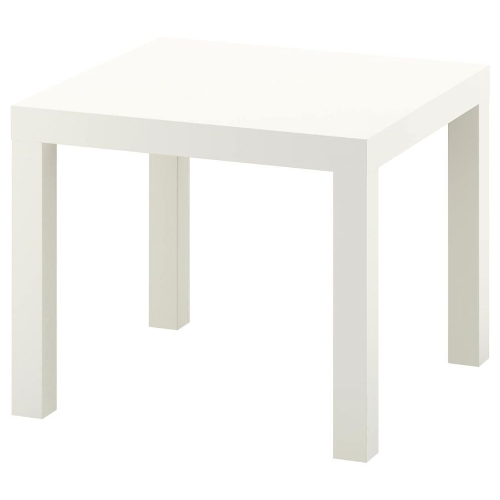 LACK ЛАКК, Придиванный столик, белый, 55x55 см - 704.499.11