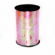 Лента голография, розовый (0,5 см*500 м), Китай
