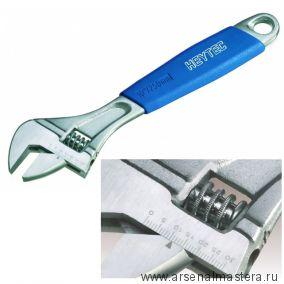 Разводной ключ со шкалой 0-1/4 дюйм, 160 мм HEYCO 50839