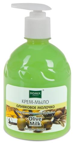 """Жидкое мыло """"Оливковое молочко"""", 500 мл. Domix"""