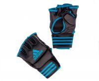Перчатки для смешанных единоборств Adidas Competition Training чёрно-синие, размер M, артикул adiCSG091