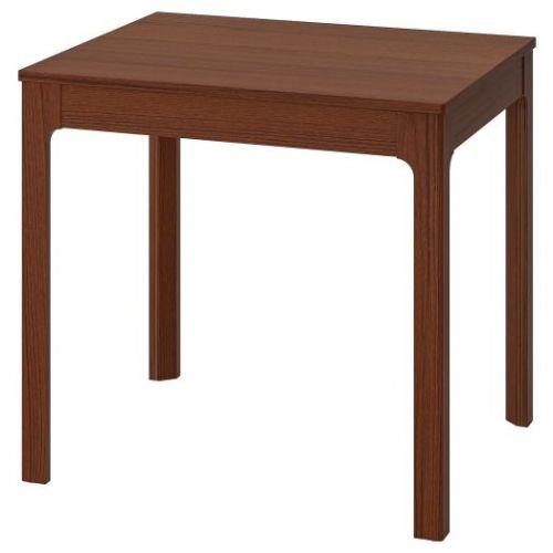 EKEDALEN ЭКЕДАЛЕН, Раздвижной стол, коричневый, 80/120x70 см - 503.578.32