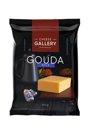 Сыр Cheese Gallery Гауда кусок, 200г