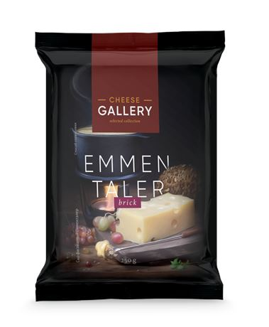 Сыр полутвердый Cheese Gallery Emmentaler 45%, 250г