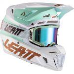 Leatt Kit Moto 8.5 V21.1 Ice комплект шлем внедорожный и очки