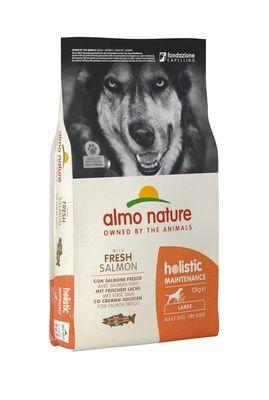 Корм сухой Almo Nature для собак всех пород с лососем 12кг