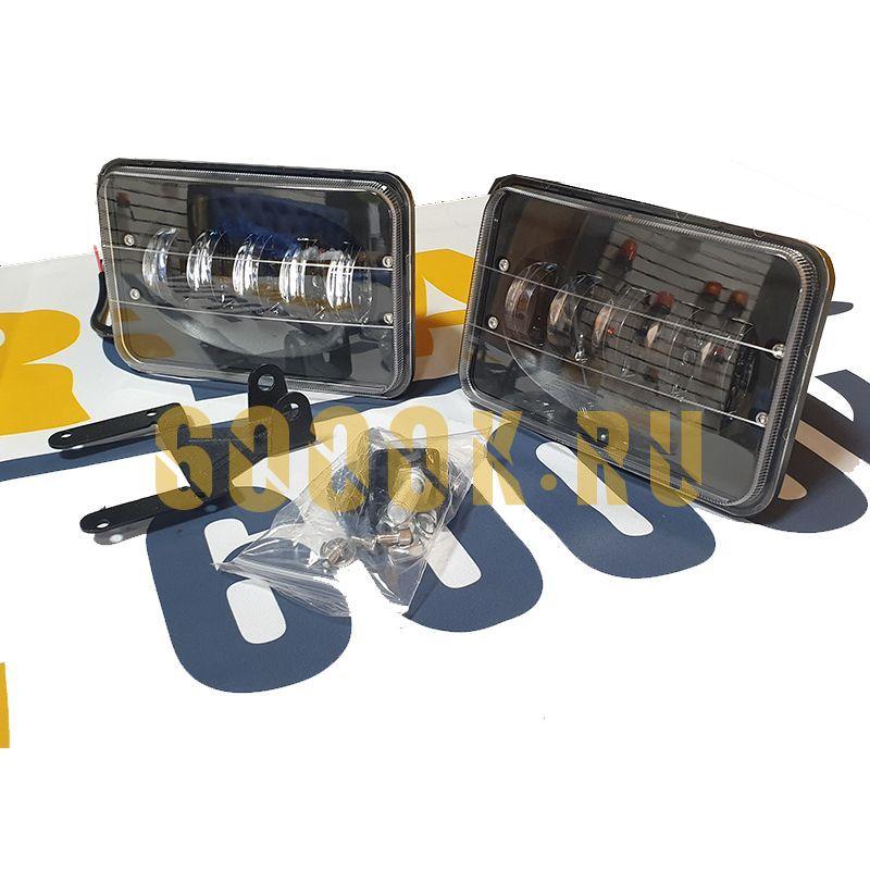 Комплект светодиодных фар 100W с границей света