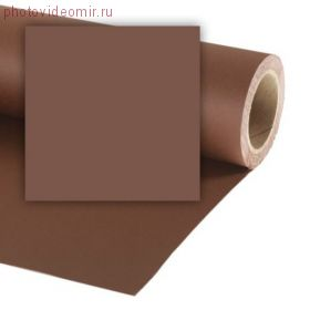 Фон бумажный Colorama LL CO280 2.72x25 м Peat Brown