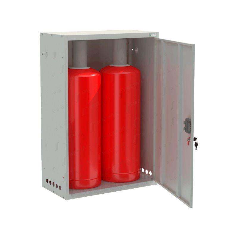 Шкаф для газовых баллонов «ШГР 50-2-4» (2х50л)