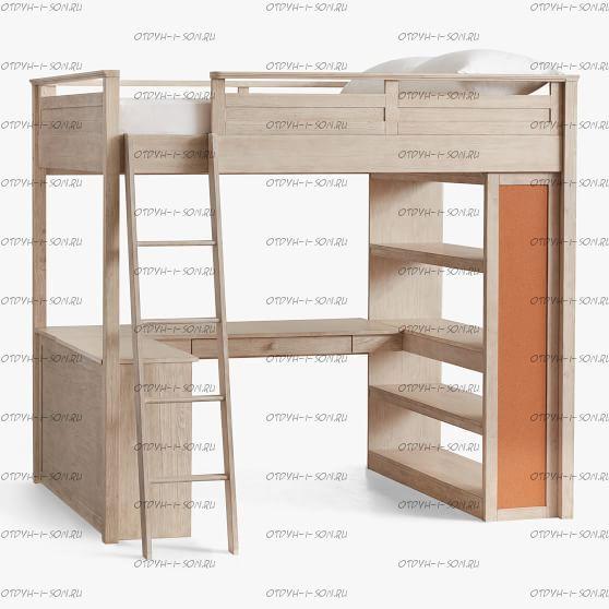 Кровать-чердак Кадет №28