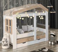 Кровать-домик Сказка ДС-32