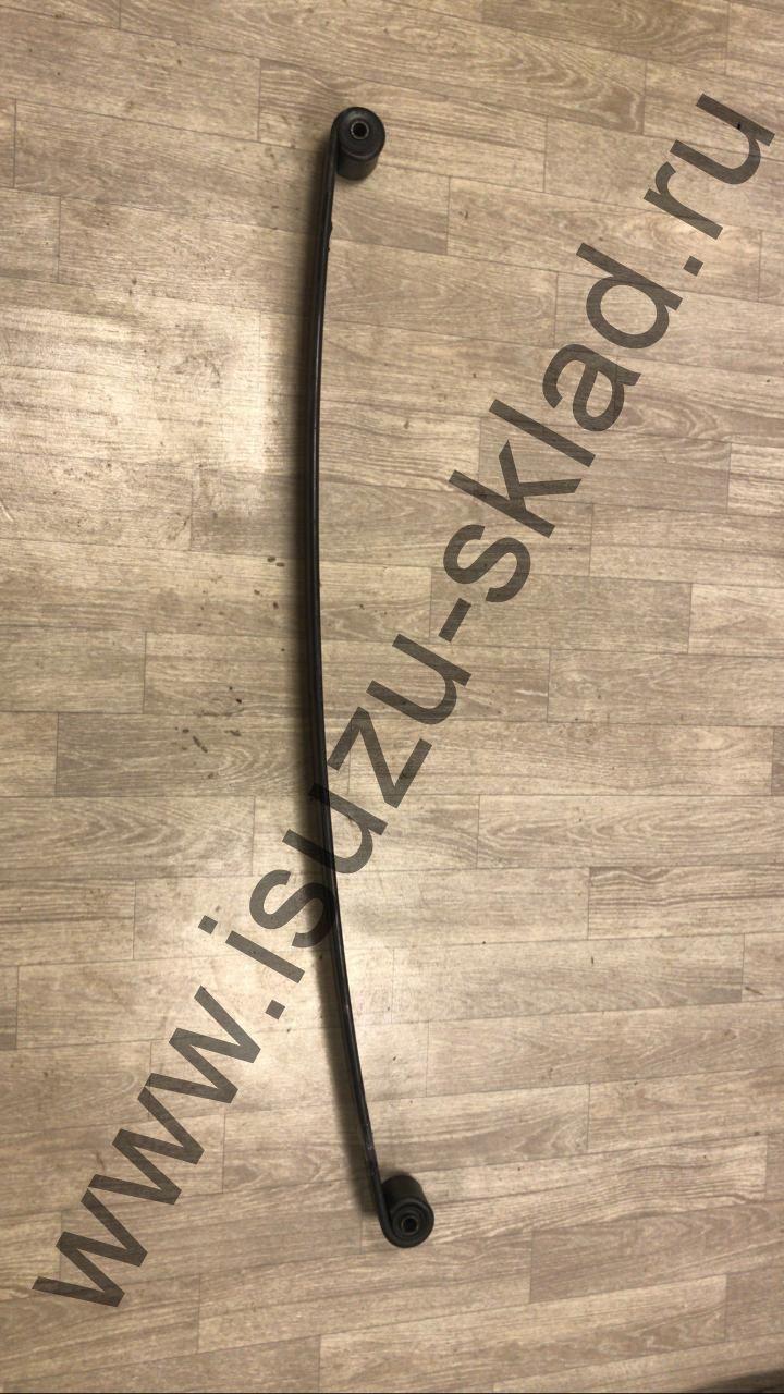 Лист рессорный коренной задний 70x13x1350 с сайлентблоками NQR 71 / NQR 75 / Богдан