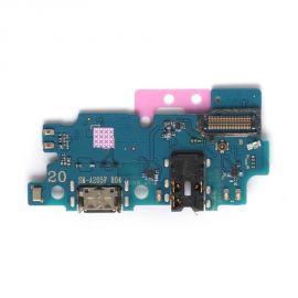 разъем зарядки и микрофон Samsung Galaxy A20 A205