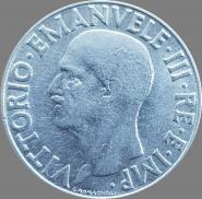 Италия 1 лира 1940 UNC