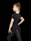 Футболка с сеткой Rialitta для художественной гимнастики