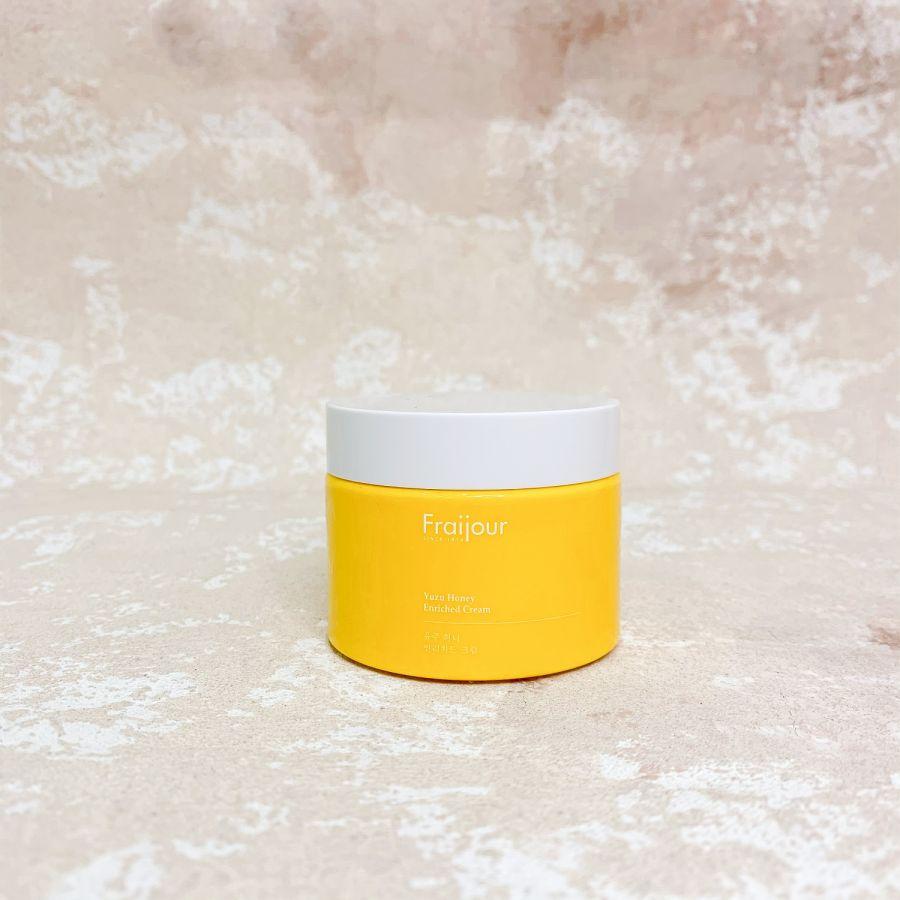 Крем с прополисом и экстрактом юдзу EVAS Fraijour Yuzu Honey Enriched Cream, 50 мл