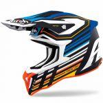 Airoh Strycker Shaded Blue Matt шлем для мотокросса и эндуро