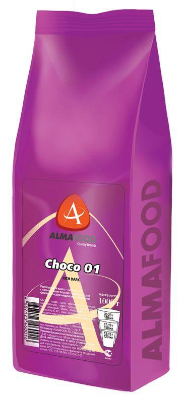 Almafood Choco Rich в гранулах 1000 гр - какао-шоколад для вендинга