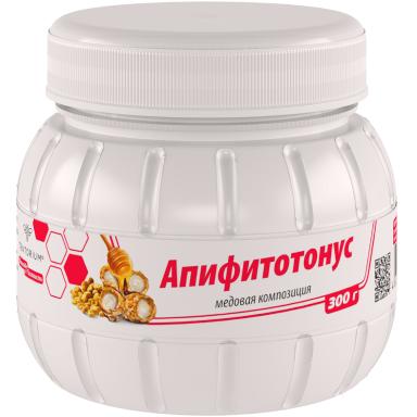 """""""Апифитотонус"""" (с пыльцой, маточным молочком) 300г"""