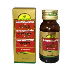 Saraswatharishtam with gold NAGARJUNA 25 мл
