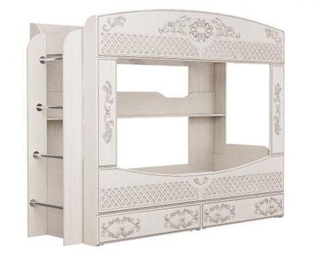 Кровать двухъярусная Каролина (Патина)