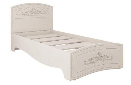 Кровать односпальная Каролина (900) (патина)