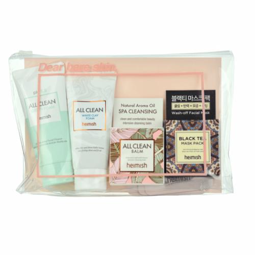 Набор миниатюр для все типов кожи Heimish All Clean Mini Kit 5