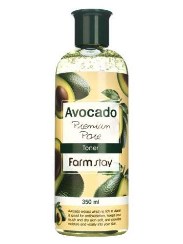 Антивозрастной тонер с экстрактом авокадо 350мл Farm Stay