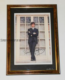 Автограф: Пол Маккартни. The Beatles