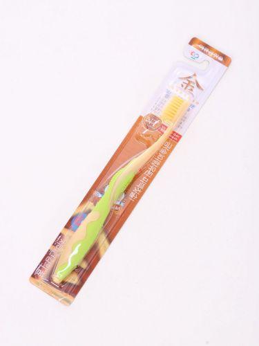 Зубная щетка для ДЕТЕЙ от 7 лет ИОНЫ ЗОЛОТА В АССОРТИМЕНТЕ Wellbeing мягкая EQ Корея
