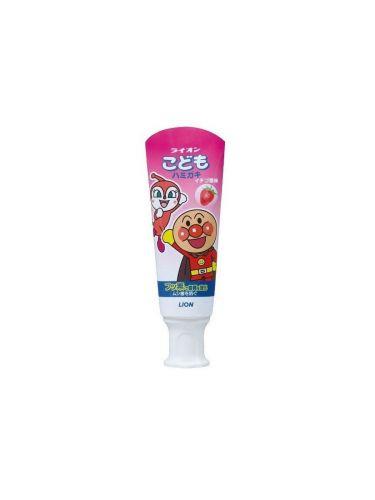 Детская зубная паста Kodomo слабообразивная со вкусом клубники 40гр LION