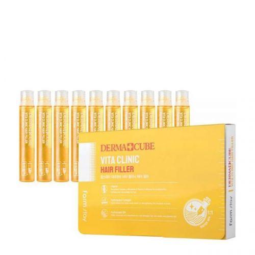 Филлер для волос FarmStay Derma Cube Vita Clinic Hair Filler 13 мл 1 шт