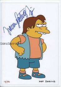 Автограф: Нэнси Картрайт. Симпсоны / The Simpsons