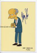 Автограф: Гарри Ширер. Симпсоны / The Simpsons